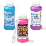 Custom 4 Oz. Bubbles with Full-Color Digital Label