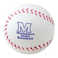 "2 1/2"" Foam Baseball Stress Reliever"
