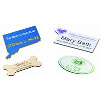 Custom Shape Name Tag