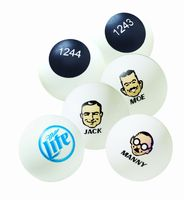 40 Mm White Ping Pong Balls