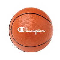 "2 1/2"" Foam Basketball Stress Reliever"