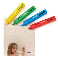 4-Pack Bathtub Crayon Sets in Polybag