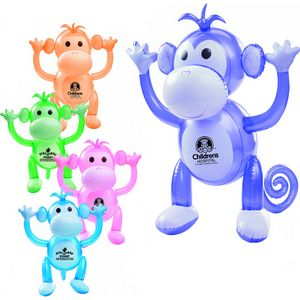 Custom Imprinted Inflatable Monkey Animal Toys!