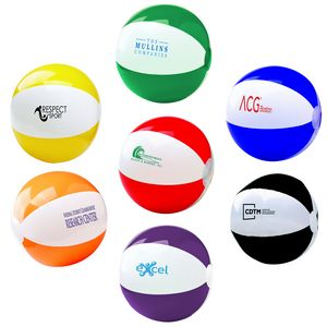 12 Two Tone Beach Ball