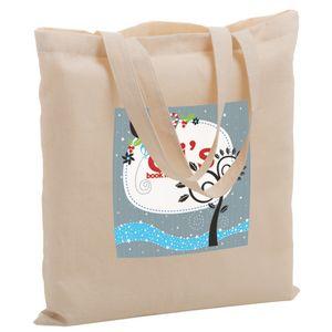 Cotton Canvas Tote Bag w/ Full Color (15x15) - Color Evolution