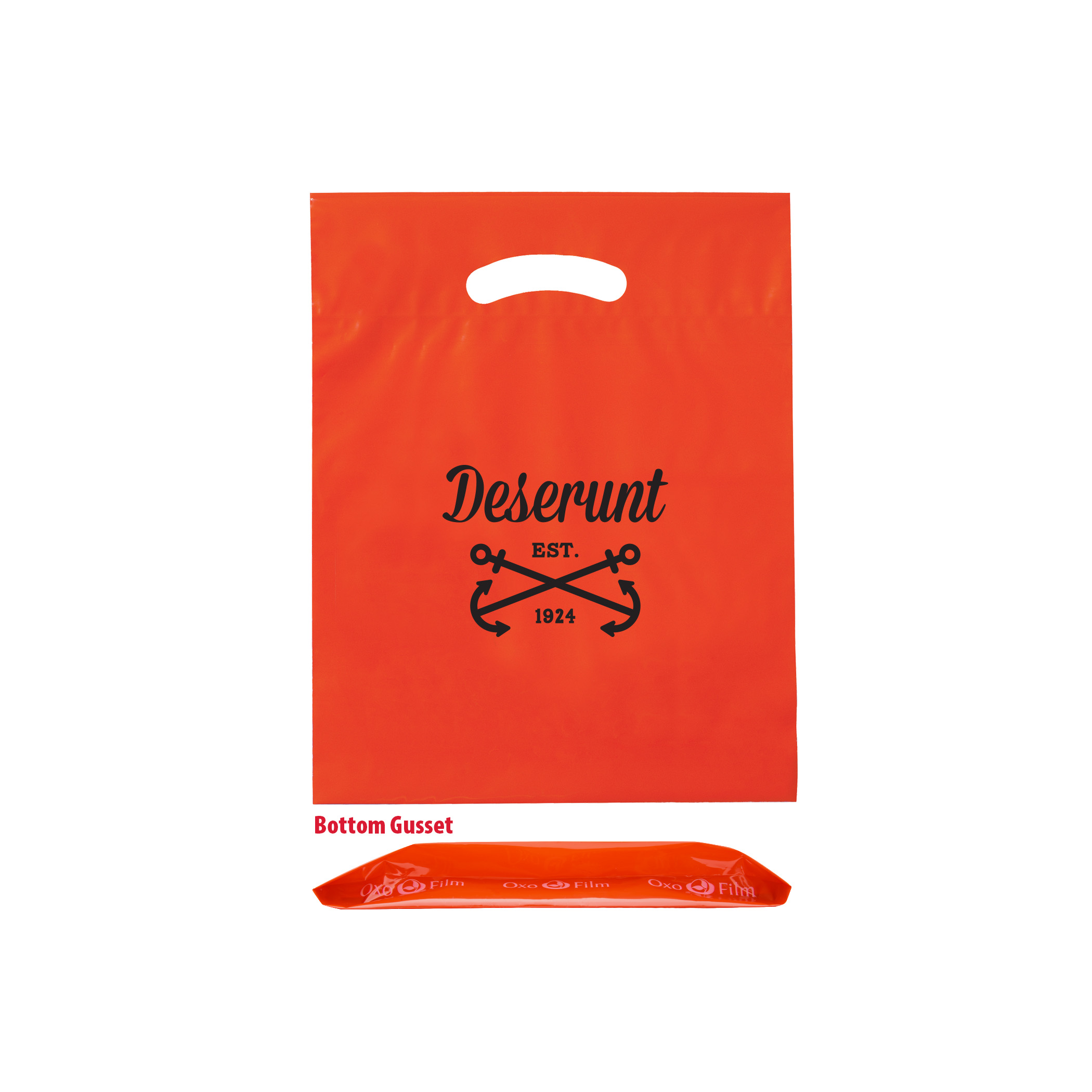 OXO Reusable Die Cut Fold-Over Reinforced Bag (9
