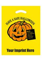 Halloween Stock Design Yellow Die Cut Bag
