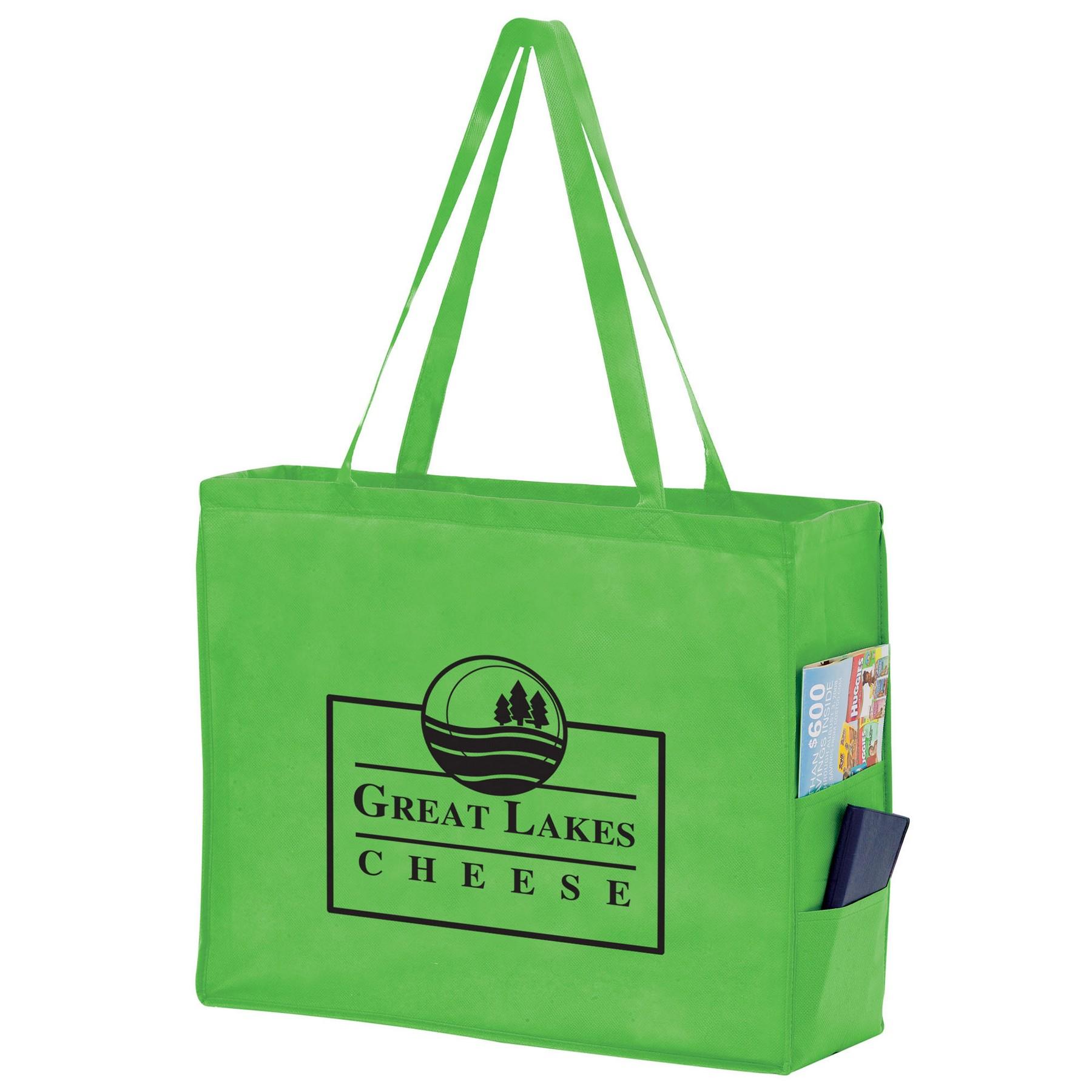 Side Pocket Non-Woven Tote Bag (20