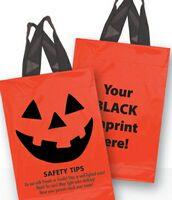 Halloween Stock Design Orange Soft Loop Shopper