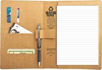 "STORM - Washable Kraft Paper Padfolio - (6""x9"") - SP"