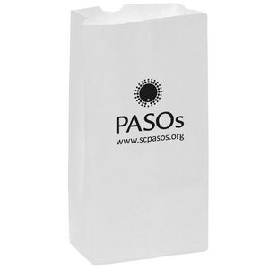 12aab1b7f43 White Kraft Paper SOS Grocery Bag (Size 10 Lb.) - Flexo Ink - 6G10W -  IdeaStage Promotional Products