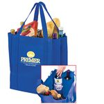 Custom Wine & Grocery Combo Tote Bag w/Insert (13