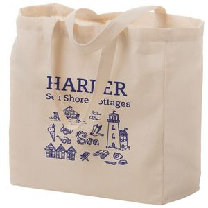 Cotton Canvas Tote Bag 13 X5 X13 Screen Print Cn13513 Ideastage Promotional Products