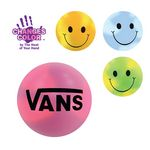Custom Mood Smiley Face Stress Ball (Spot Color)