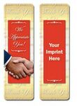 Thank You Stock Full Color Digital Printed Bookmark