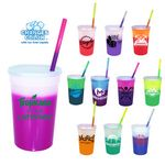 22 oz. Mood Stadium Cup/Straw/Lid Set
