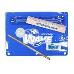 Custom Premium Translucent School Kit w/ Pencil, 6