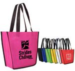Custom Non Woven Fiesta Tote Bag (Spot Color)
