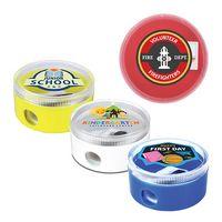 Round Pencil Sharpener, Full Color Digital