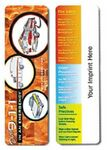 Emergency Safety Full Color Digital Printed Bookmark