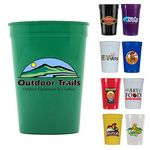 Custom 12 Oz. Smooth Stadium Cup (Full Color Digital)
