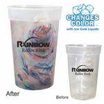 Custom 17 Oz. Rainbow Confetti Mood Cup