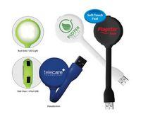 Halcyon® 4 Port USB Hub with LED Light