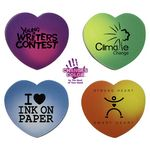Mood Heart Die Cut Erasers