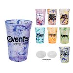 Custom 17 Oz. Confetti Stadium Cup (Spot Color)