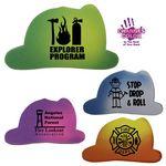 Custom Mood Fire Helmet Die Cut Erasers