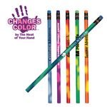 Custom Mood Pencil w/ Colored Eraser (Spot Color)