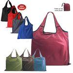 Custom RPET Fold Away Carryall Tote Bag (Blank)