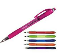 Mardi Gras Grip Pen (Spot Color)