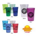 Custom 17 Oz. Sun Fun Stadium Cup (Spot Color)