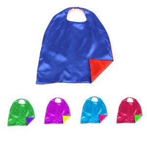 Double Layer Satin Capes For Kids