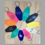 Custom Motel Key Tag / Hotel Keychain