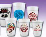 Multicolor Foam Cups (12 Oz.)