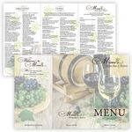 Custom Promote.Restaurant Full Color Tri-Fold Menu, Large