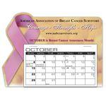 Custom Awareness Ribbon Desk Calendar