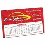 Custom Slimline Full Color Desk Calendar