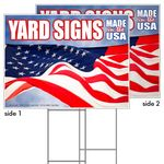 Custom Coroplast Yard Sign, 2-sided