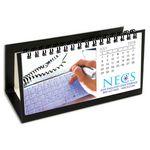 Custom Hang 12 Custom Flip Calendar with Black Organizer Base