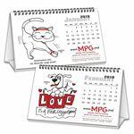 Custom Promote.Pet Pet Tales 12-Month/7-Sheet Tent Calendar