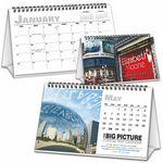 Custom Big Picture Custom Tent Calendar