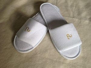 fcca1d96b Terry Velour Open Toe Hotel Slipper - F051 - IdeaStage Promotional Products