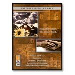 Custom Vibrant Collection Plaque w/ Full Color Zinc Etched Metal Plate & Black Backer (12
