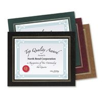 Certificate Holder - Leatherette Frame