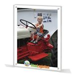 Custom Images Collection - Picture Frame w/ Full Color Image & Magnets