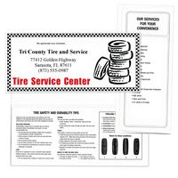 "Tire Center Standard Design Document Folder (10 1/4""x4 1/2"")"