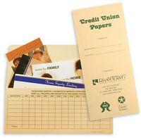 "Credit Union Standard Design Document Folder (4 1/2""x10 1/4"")"